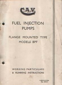 Cav Fuel Injection Pump