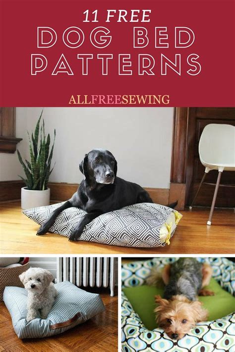 dog bed patterns printable patterns