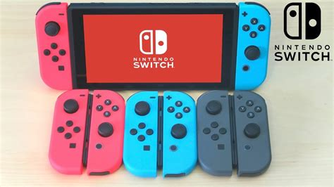 nintendo switch  joy  controller color
