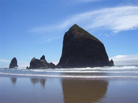 haystack rock in oregon by hksevo on deviantart