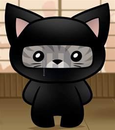 Cartoon Ninja Cat