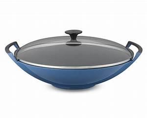 Wok Le Creuset : le creuset wok with glass lid 2o pots pans other kitchen pin ~ Watch28wear.com Haus und Dekorationen