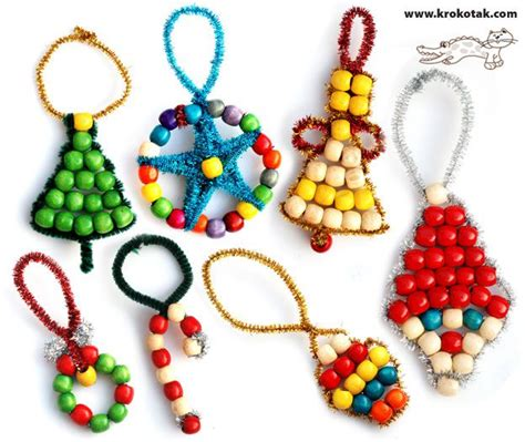 374 best beaded ornaments images on pinterest