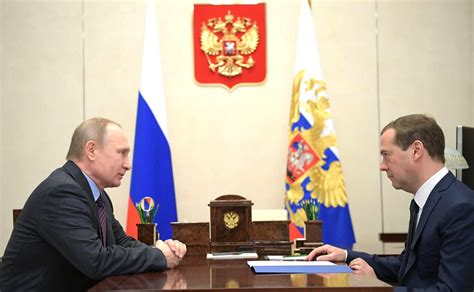 Prime Minister Russian Economy Embarks Positive Path