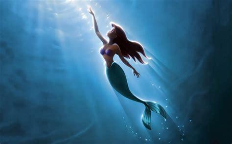 mermaid wallpaper 4k wallpapers ariel disney the mermaid Underwater