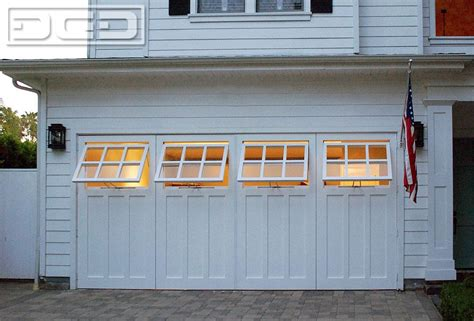 convert garrage door to windows these carriage doors are easily operated by for convenient access to the newly
