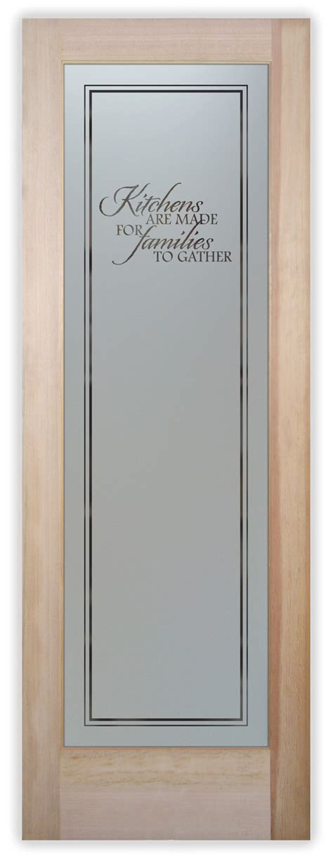 kitchen pantry doors frosted glass  sans soucie