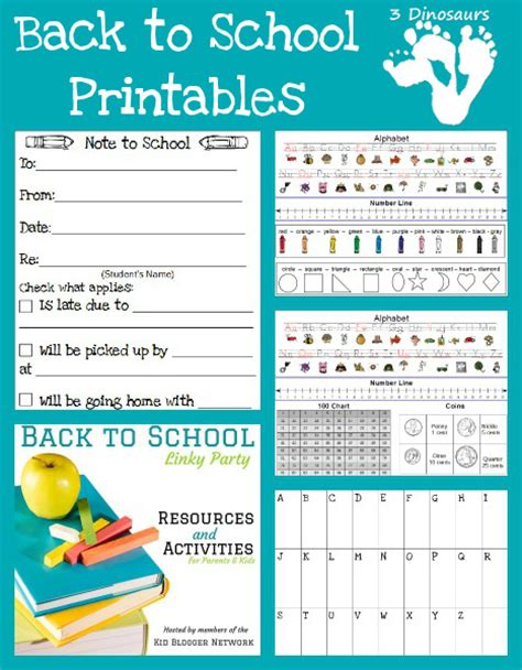 free back to school printables free homeschool deals