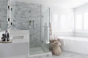 corner, soaking, tub, , glass, shower, enclosure, , marble, shower