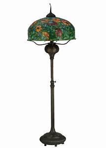 meyda 27544 tiffany poppy floor lamp With tiffany floor lamp with dimmer