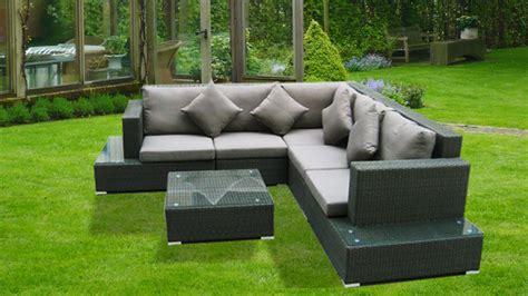 canapé avec coussin kähres 2 3 mobilier de jardin