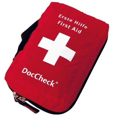 erste hilfe set doccheck erste hilfe set doccheck shop