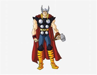 Thor Clip Clipart Cliparts Pngkey Transparent Action
