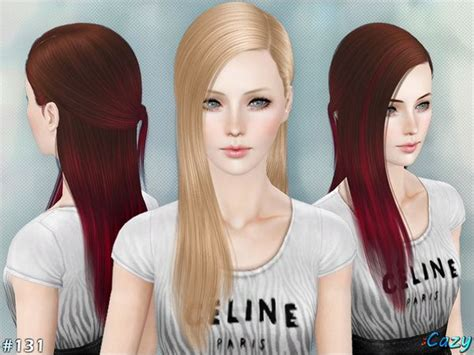 images   sims  custom content hair
