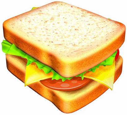 Sandwich Clipart Cheese Transparent Grilled Cliparts Clip