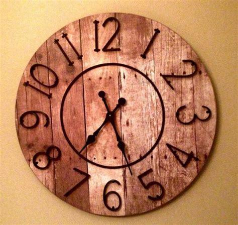 pendule cuisine originale la grande horloge murale en photos