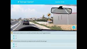 Code De La Route 2017 Test Gratuit : examen code de la route 2018 s rie de 40 questions avec correction permis de conduire youtube ~ Medecine-chirurgie-esthetiques.com Avis de Voitures