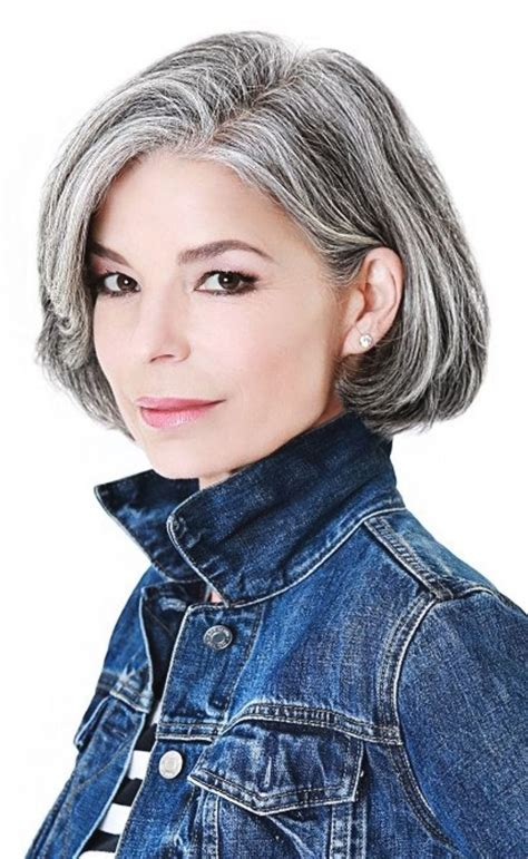 Hairstyles For Going Gray Fade Haircut