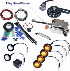 Utv Heavy Duty Lever Switch Turn Signal Kit With Horn And