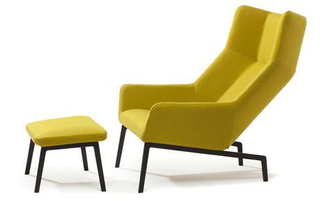 park lounge chair ottoman hivemodern