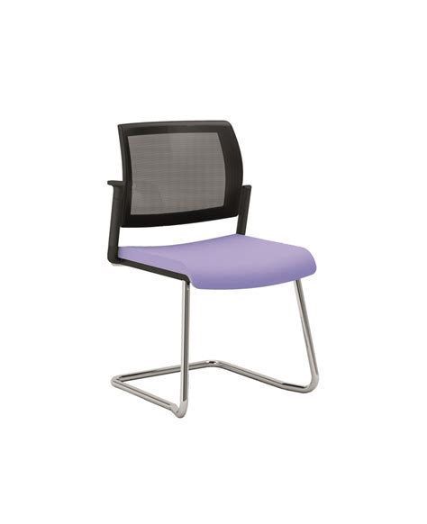 chaise reunion office 650 chaise de bureau ou réunion dossier filet pied