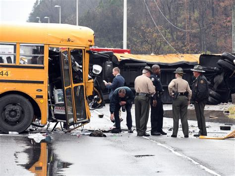 Two Children And One Adult Killed In School Bus Crash