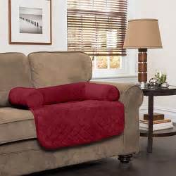 innovative textile plush bolster chair cover boscov s