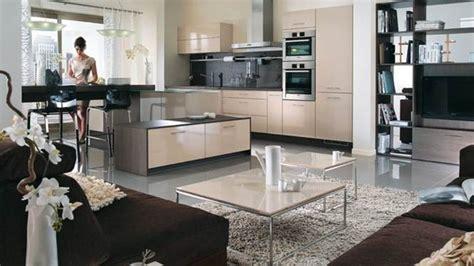 decoration salon cuisine ouverte decoration cuisine ouverte sur sejour cuisine en image