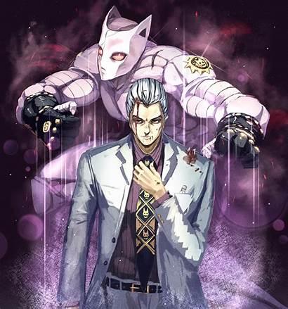 Kira Yoshikage Diamond Jojo Unbreakable Bizarre Killer