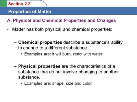 Objectives To Learn To Distinguish Between Physical And Chemical Properties To Learn To
