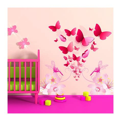 stickers papillon chambre bebe stickers chambre bébé florilège de papillons enchanteurs