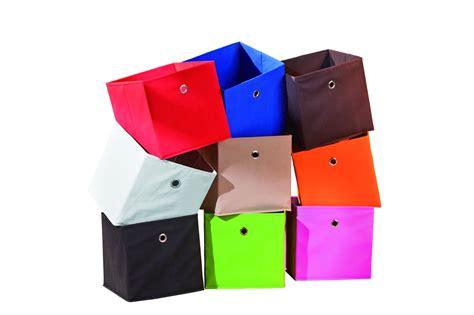 scaffali per box auto gixi contenitori moderni scatole in stoffa per scaffali di