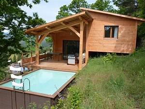 maison de standing en bois bordezac location de With maison en rondin prix 5 maison de standing en bois bordezac location de