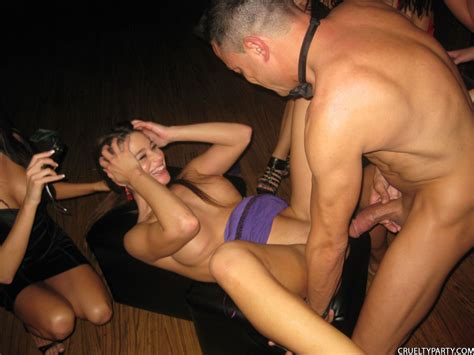 Cruelty Party Girls Fucking A Stripper