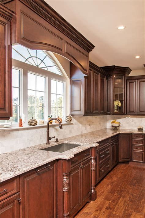 dark brown  white kitchen millstone  jersey