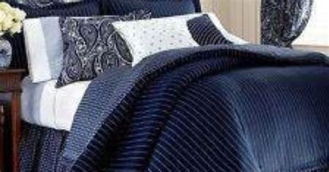 ralph lauren chaps allistair king comforter navy blue