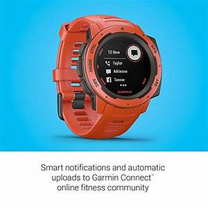 Gps Galileo Compatible : garmin instinct rugged outdoor watch with gps features glonass and galileo heart rate ~ Melissatoandfro.com Idées de Décoration