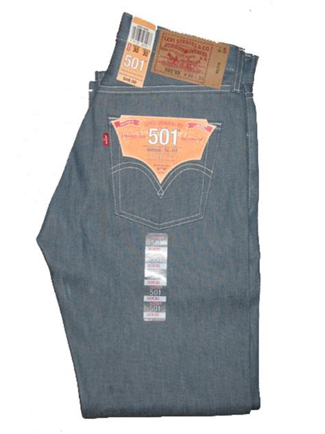 Levis 501 Jeans  Shrink To Fit  Sky Blue (0542)  $4599