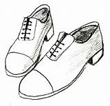 Shoes Shoe Draw Drawing Tennis Sketch Dance Boots Easy Pair Drawings Simple Cartoon Outline Step Nike Sketches Lineart Wikihow Irish sketch template