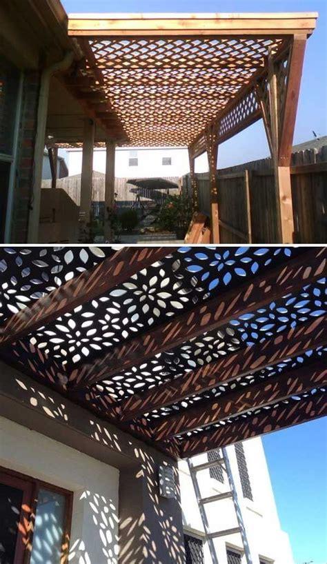 roof screen  pergola   fascinating lattice shade  annabelle outdoor pergola