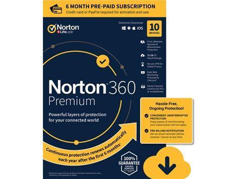 norton cloud norton 360 premium protection vpn 75gb cloud