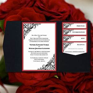 17 best ideas about black red wedding on pinterest red With diy red and gold wedding invitations
