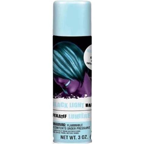 black light hairspray 3oz glow we and colors