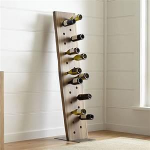 dakota, 24-bottle, leaning, wine, rack