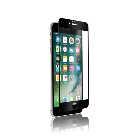 glass iphone screen protector optiguard glass protect black white screen protectors for Glass