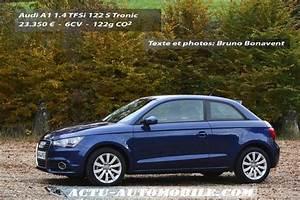 Audi A1 Tfsi 122 : essai audi a1 1 4 tfsi 122 s tronic nouvelle r f rence actu automobile ~ Gottalentnigeria.com Avis de Voitures