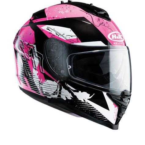 ladies motorcycle helmet hjc is 17 pink rocket ladies motorcycle helmet full face