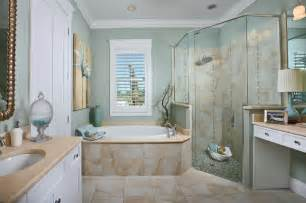 Small Living Room Ideas With Bay Window by The Laurel Cottage Coastal Design Tropical Bathroom