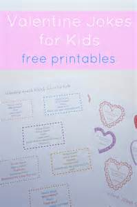 Free Printable Valentine Jokes for Kids