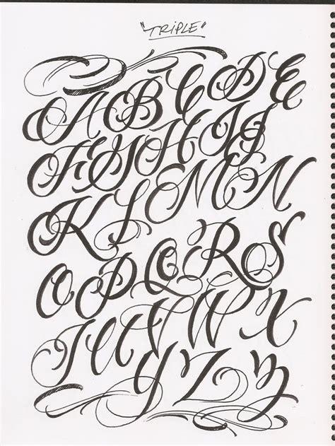tattoo fonts alphabet ideas  pinterest